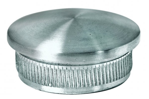 Endkappen - V2 A massiv, für Rohr 25/1,5mm,