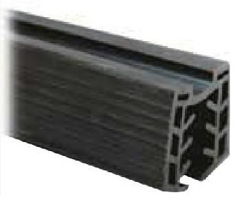 Gummieinsätze Nutrohr 48,3x1,5mm Glas 16-17,5mm