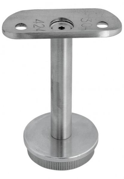 Rohraufsatz, V2A, Aisi 304, für Rohr 42,4/2mm,