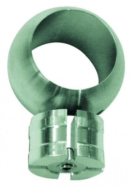 Kugelring T-Verbindung V2A geschliffen f. ø 42,4mm