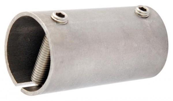 Rohrverbinder mit Klemmschrauben,V2A,M8x40