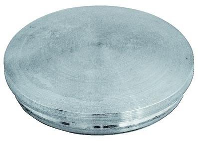 Einschlag-Kappe V2 A, 42,4/2mm, gewölbt,