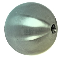Eisenkugel roh ST37, mit Durchgangsloch ø 35mm,