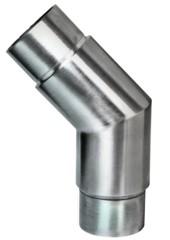 Rohr-Verbinder 135° V2A, f. Rohr 48,3/2mm