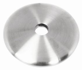 Ronde ø68/5mm V2A, gewölbt,geschliffen,massiv