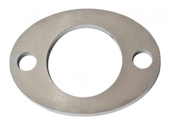 Ankerplatten oval 85x62x6mm V2A Laserschnitt