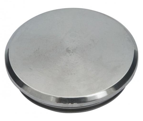 Einschlag-Kappe, V2 A,42,4/2mm,massiv,