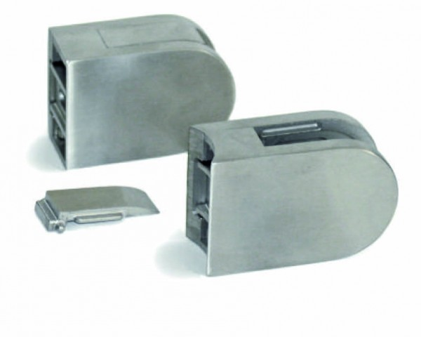 Glashalter V4A, 63/45mm, für Rohr 42,4mm