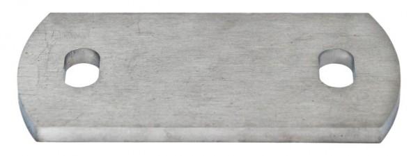 Ankerplatte 120x60x8mm Edelstahl V2A
