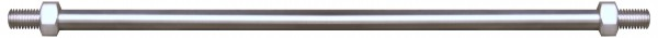 Zugstangen für Glasvordächer, ø 12mm,L=1250mm,V2A