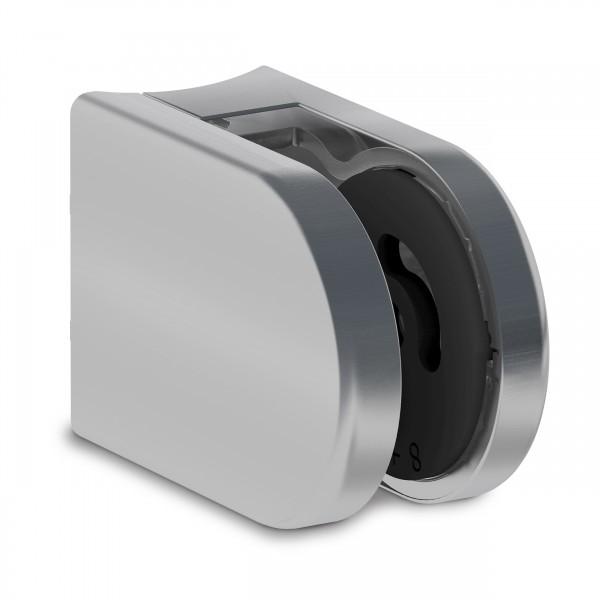 UniFix Glashalter 65x45mm, Ansatz ø 42,4mm, V4A