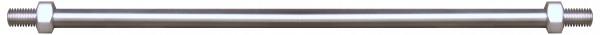 Zugstangen V2A, ø 10mm, M10, Länge 875mm, Aisi 304