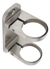 Wandbefestigung f.Rohr 42,4mm,Platte 120/48/8mm