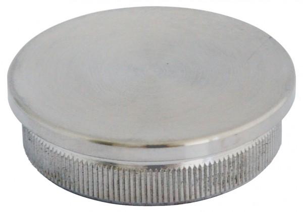 Endkappen flach massiv für Rohr 26,9/2mm,