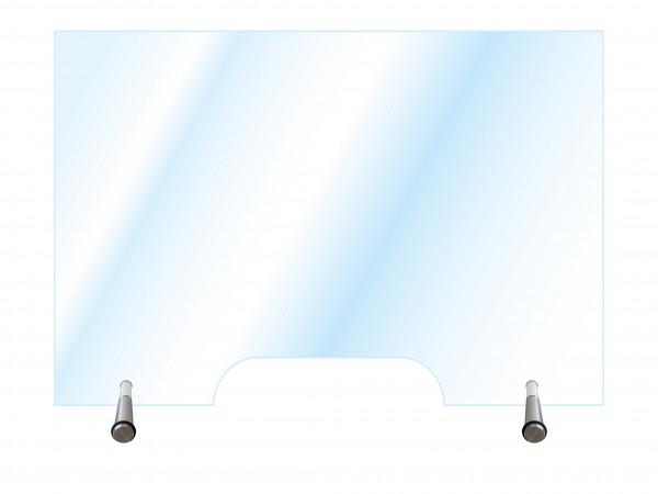 Hygiene-Schutzglas Typ 1