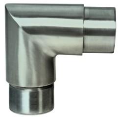 Rohr-Verbinder V2A, für Rohr 42,4/2mm, 90° Eck