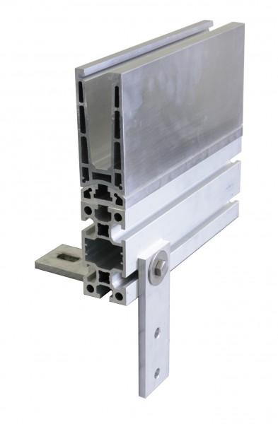 MonoTwin MT8 U-Profil 137x60mm, Alu eloxiert