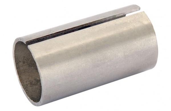 Rohrverbinder mit Schlitz V2A,roh, f.Rohr 33,7/2mm