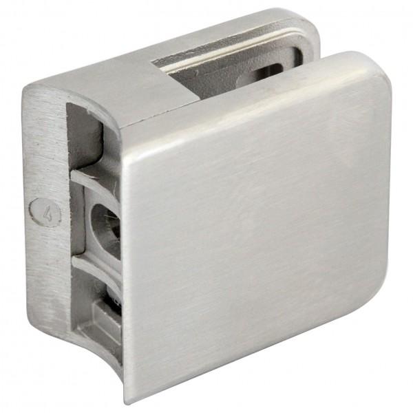 Glashalter V2A,Größe 45/45mm,Vireck,Rohr 33,7mm,
