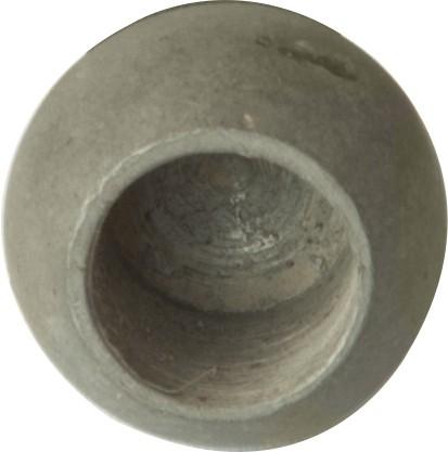 Kugeln, Eisen roh, mit Sackloch, ø 25mm, Loch 12,1