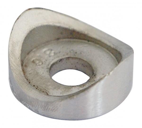 Rohranschluss für Glashalter ø60 V4A