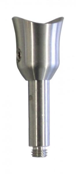 DuoTwin Handlaufhalter mit Stift ø10
