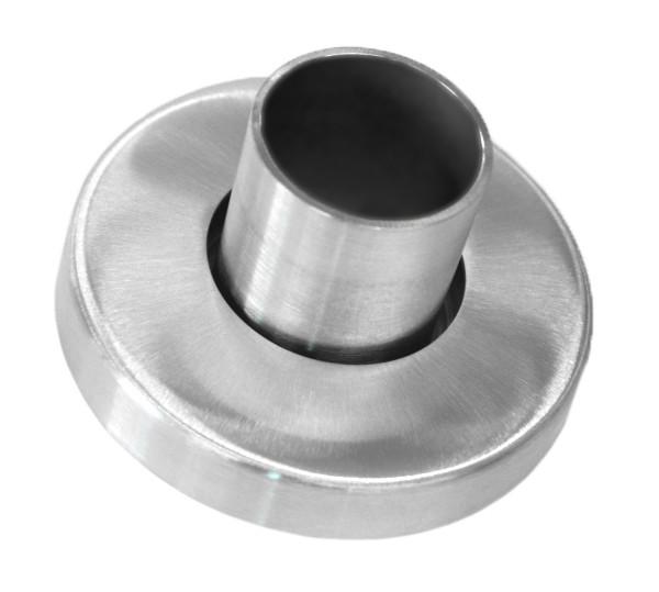 Wandanker V2A für Rohr ø33,7/2mm mit Rosette