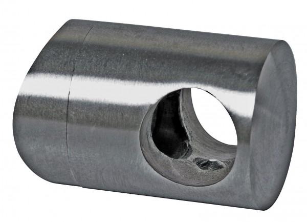 Traversenhalter V4A,30/22mm,f.Rohr 42,4mm