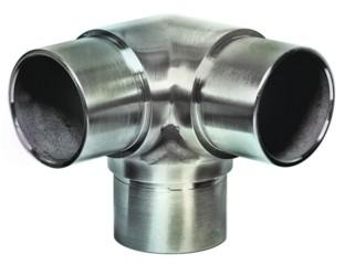 Rohr Verbinder V2A, f.Rohr 33,7/2mm, Aisi 304