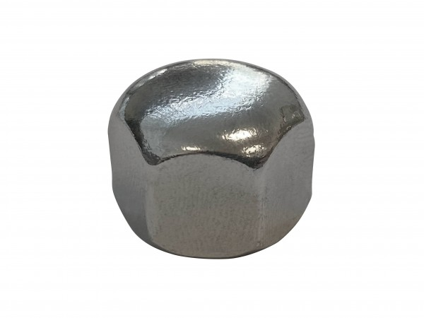 Sechskant-Hutmutter, hohe Form, V2A, M8