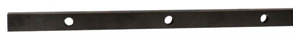 PVC-Kunststoffleiste schwarz 24x10mm
