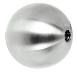 Kugel ø15mm Sacklochgewinde M6, Vollmaterial