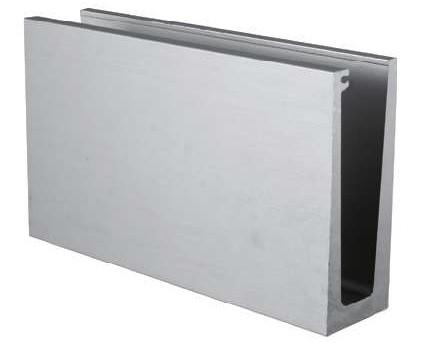GlasTwin GT1 U-Profile 120x45mm Alu eloxiert