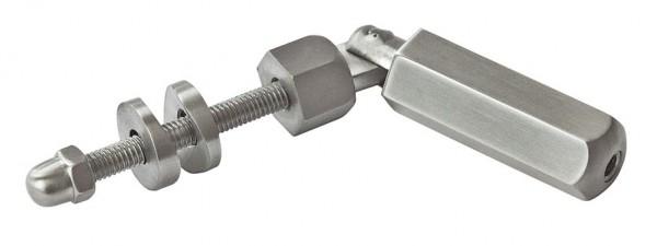 Seilspanner V2A,f. Rohr 42,4mm,f.Seil 4mm,6-teilig