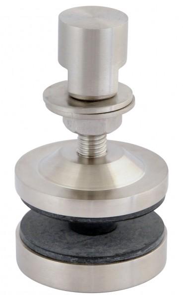 Fassaden-Punkthalter Edelstahl V4A,Kopf flach,