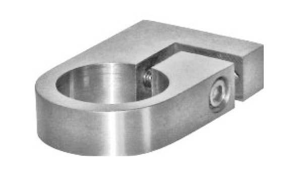 Rohrschelle V2A,f.Rohr 33,7mm,einstellbar,Aisi 304