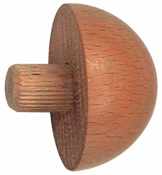 Endkappe für Holzhandlauf,Material ø 42,4mm, Buche