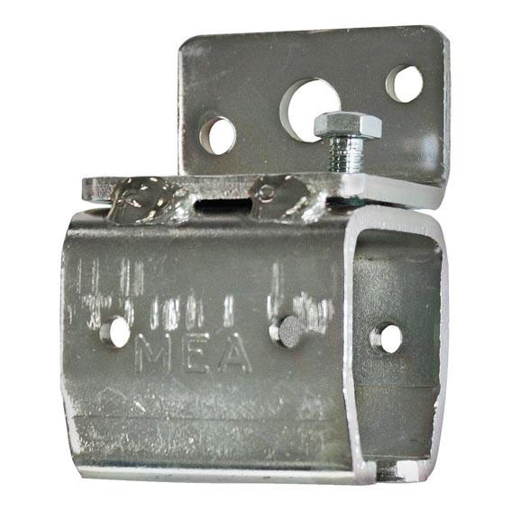 Wandhalter für Laufschiene 53x42mm Stahl verzinkt