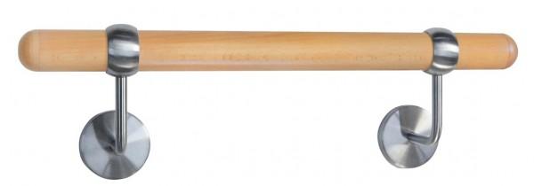 Handlauf m. Träger,Stangenlänge 1500mm,ø ca. 40mm