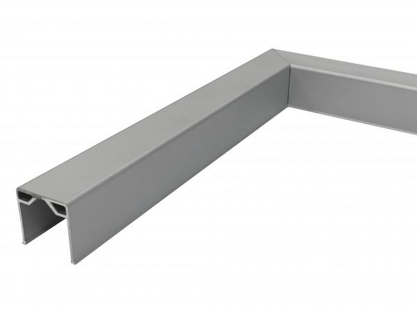 90° Eckverbindung U-Profil 24x24mm, 200x200mm