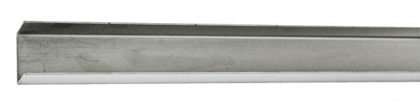 U-Profil 20x30x20x1mm L=1980mm Edelstahl V2A
