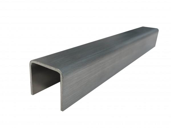 Glaskantenschutz U-Profil 28x26x2mm V2A