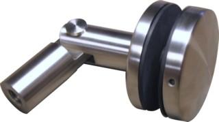 Glashalter V2A,Platte ø50mm, M10