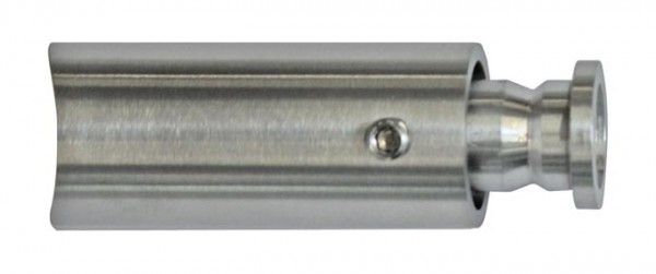 Rohrhalter m.Feststellschraube,V2A,f.Rohr 42,4mm