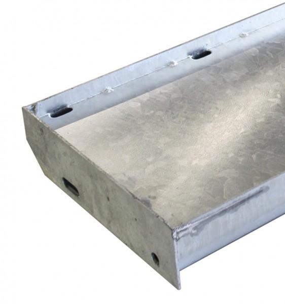 Einlegestufe 800x270mm, Eisen, feuerverzinkt