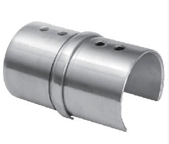 Verbinder f. Nutrohr V2A f.Nutrohr 42,4x1,5mm