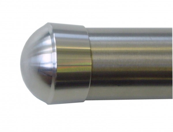 Endkappe V2A 42,4/2mm geschliffen f.Metallhandlauf