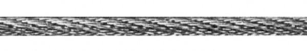 Edelstahl-Seil, V2A, 6mm stark, per Meter