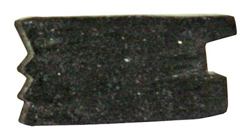 Klemmgummi für Glas 13,52 mm in U-Profil