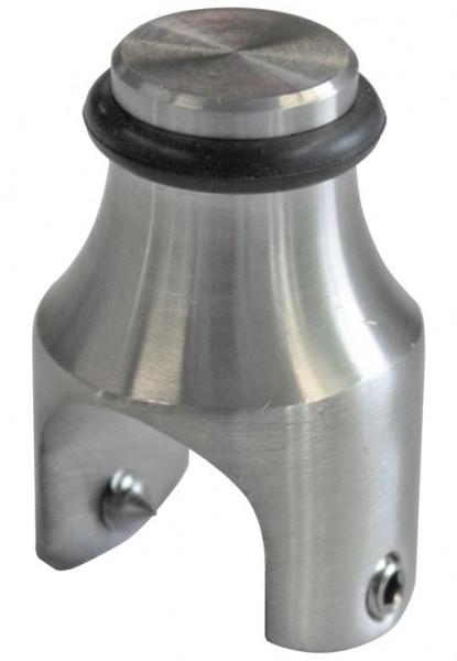 Türstopper für Rohr ø25mm V2A geschliffen